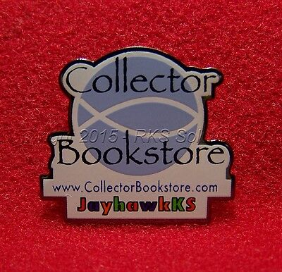 eBay Live Collector Bookstore JayhawksKS pinack pin