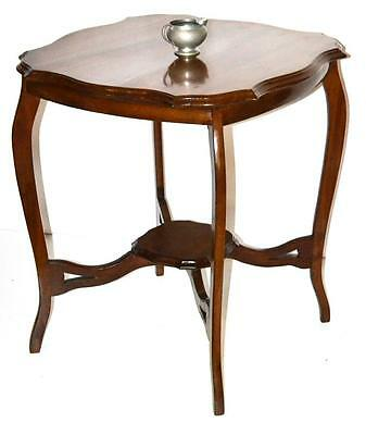 Edwardian Mahogany Occasional Table with Under Tier - FREE Shipping  [PL3229]