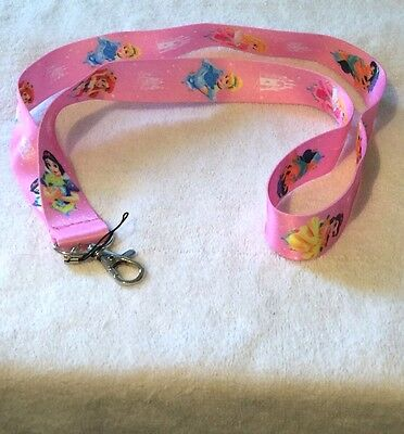 Princess Keychain ID Holder Cell Phone Lanyard
