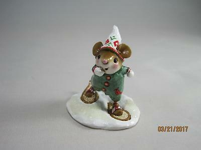 Wee Forest Folk M-402x Polar Tree Mouse Expo 2013 Special - New in Wff Box
