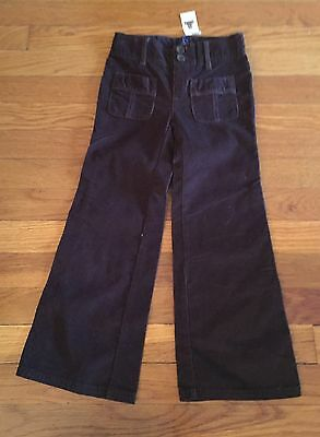 BABY GAP DESIGNER BRAND NEW NWT Brown Corduroy Pants 5 5T