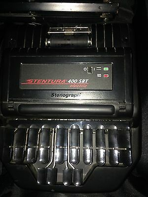 Stentura 400 SRT Electric Stenograph Bundle Accessories Travel Case