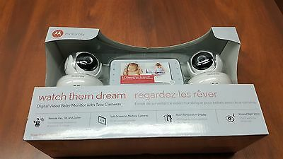 Motorola MBP38S-2 Digital Video Baby Monitor with Two Cameras