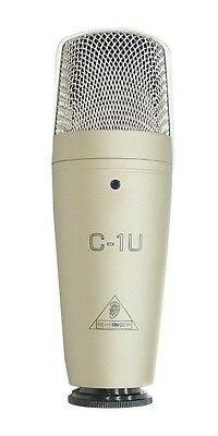 Official BEHRINGER USB Studio condenser microphone C-1U From Japan
