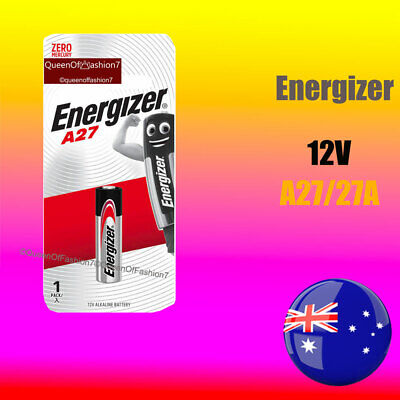 12~1 x A27 Genuine Energizer 0%Hg 12V 27A Alkaline Battery Batteries