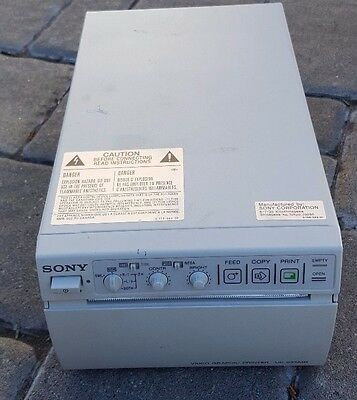 Sony UP-895MD Medical Grade Black & White Video Graphic Printer - Ultrasound