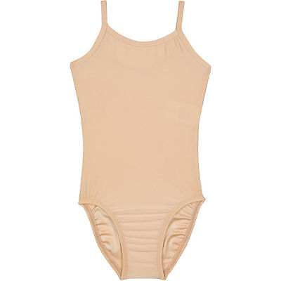 NUDE SKINTONE BEIGE Camisole Leotard for Ballet and Gymnastics