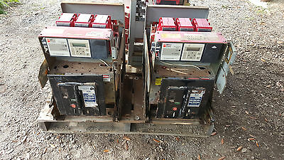 (3) Three ABB K-Line Air Breakers Two K800M and One K1600M