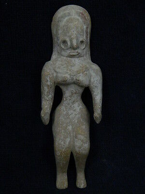 Ancient Teracotta Mother Goddess Indus Valley 2000 BC  #TR1005