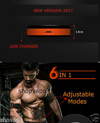 EMS Muscle Training Body Sixpack Fit Set ABS SixPac Electrical Muscle Simulation