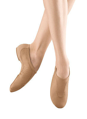 Bloch Tan Pulse Slip On Jazz Dance Shoe Youth Size 4M (Fits Youth Size 2)