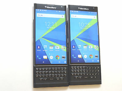 Lot of 2 Blackberry Priv STV-1001 T-Mobile 32GB Smartphones AS-IS GSM ~