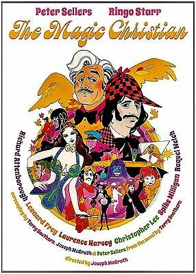 NEW DVD // THE MAGIC CHRISTIAN  - Peter Sellers, Ringo Starr, Raquel Welch,