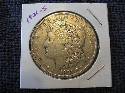 1921 s Morgan silver Dollar