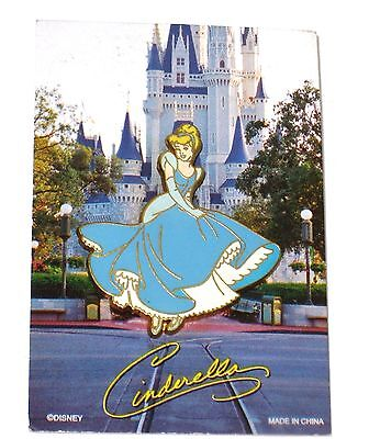 Disney Pin✿Princess Cinderella Character Card Collection '05 Signature Autograph
