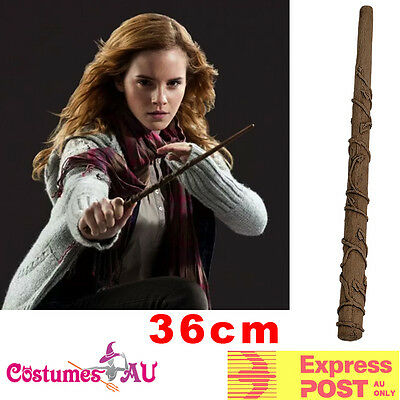 Licensed Harry Potter Hermione Granger Magic Stick Magical Wand Costume 36cm