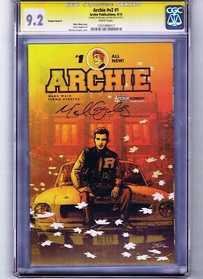 Archie #1 Variant CGC Signature Series 9.2 signed by cover artist Michael Gaydos