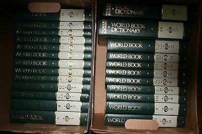 Used 1991 world book encyclopedia complete set for sale in.