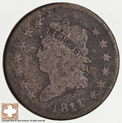 1811/10 Classic Head Large Cent S.286 *2521