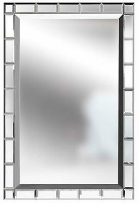 Home Beveled Mirror Tiles 12 X 12 Set Of 6 Six Tiles Pack New In