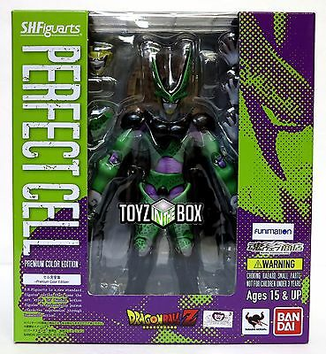 "In STOCK S.H. Figuarts Dragonball Z ""Perfect Cell"" Premium Color Action Figure"
