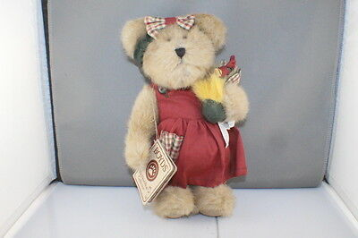 "Boyds Bears Best Dressed Series Cassie Cooper with Chicken + Tag 10"" High 904404"