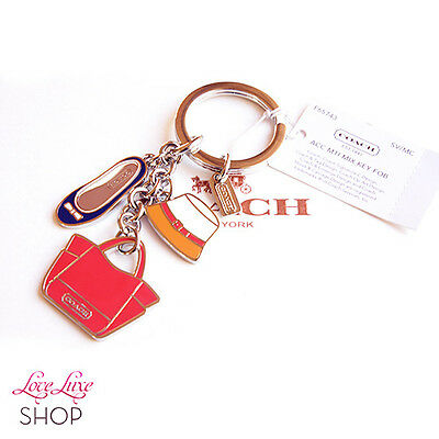 NWT Coach Accessory Multi Mix Hat Tote Bag Shoe Key chain FOB Purse Charm NEW
