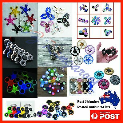Hand Spinner Spinners Tri-Fidget Ball 3D Printed Focus Toy ADHD kids Adult Metal
