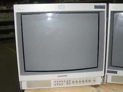 "SONY PVM-1953MD Professional Broadcast 19"" Quality Video Monitor (#1)"