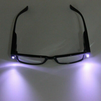 Multi Strength Reading Glasses Eyeglass Spectacle Diopter Magnifier LED Light