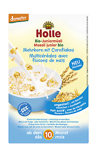 Holle Organic Junior Muesli - Multigrain with Cornflakes 250g