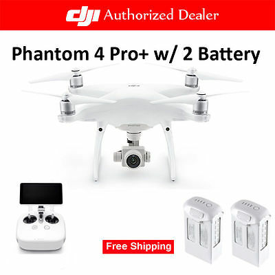 DJI Phantom 4 Pro Plus(With Display) with Two Extra High Capacity Batteries-AU