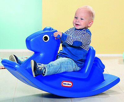 Child Rocking Horse Toddler Baby Kids Ride On Toys Animal Rocker Plastic Chair