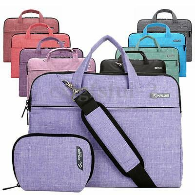 13'' Custodia Borsa A Tracolla Spalla Valigetta Per Laptop Pc Notebook Documenti