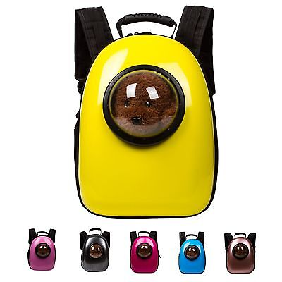 Space Capsule Pet Carrier Breathable Backpack Outside Portable Bag for Dog Cat