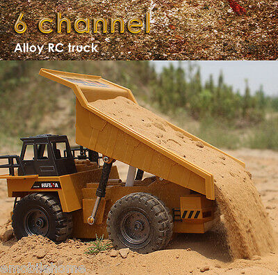 HUINA  Alloy Dump Truck  1540 1:12 2.4G 6CH RC Auto Demonstration Function