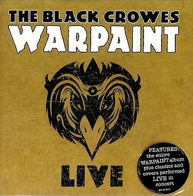 The Black Crowes - Warpaint ( Live ) ( 2 CD Set 2009 ) NEW / SEALED