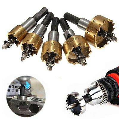 12-65mm Hole Saw Cutter Drill Bit Set HSS Hole Saw Drill Sheet Metal Reamer