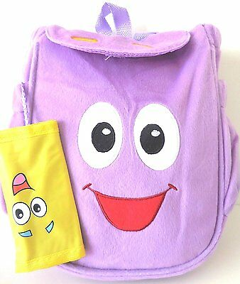 Dora the Explorer Dora Plush Mr. Backpack with Map - New Style
