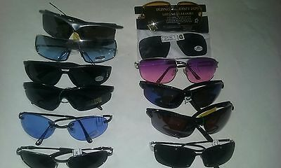 Sunglasses Lot Of 12 Variety Of Frames & Lens Colors Some With Uv400 New #052-A