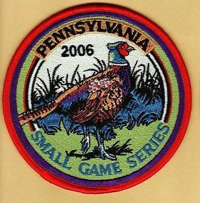 Pennsylvania Fish Game Commission NEW 2006 Small Game Series Pheasant patch