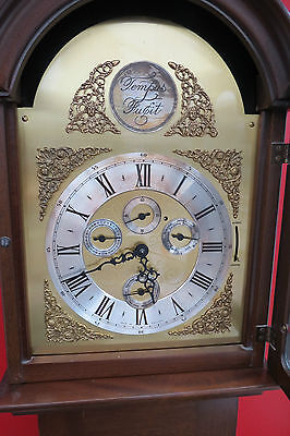 Lovely Weight Driven 8 Day Westminster Chime Calendar Grandmother Clock