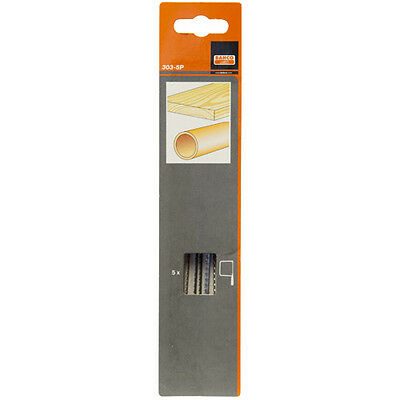 Bahco Coping Saw Blades 6 1/2inch, 14TPI, 5pk