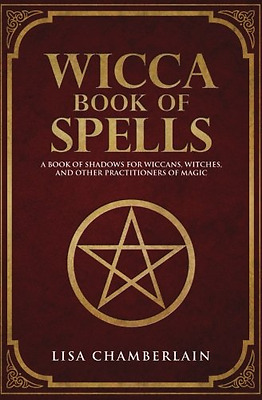 Wicca Book of Spells: A Book of Shadows for Wiccans, Witches, Learn Magic NEW