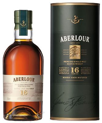 85,70€/l Aberlour 16 Years Old in Tube 40% 0,7 Liter SINGLE MALT SCOTCH WHISKY