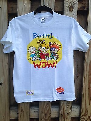 Vintage 90s RUGRATS Shirt Sz YL 14-16 Fits XS Tommy Chuckie Angelica Reptar Nick