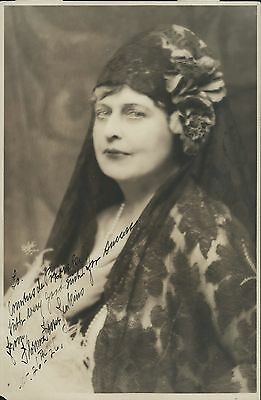 Florence FOSTER JENKINS (Opera): Signed Photograph