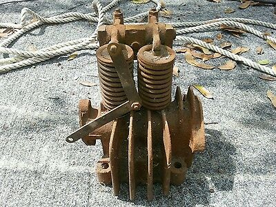 Unknown Old Hit and Miss Gas Engine