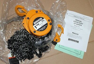 Harrington Manual Chain Hoist CF010 CF4