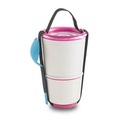 Black + Blum Lunchbox Lunch Pot Pink